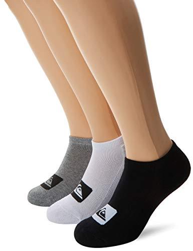 Quiksilver Jungen Anckle Pack Socks Füßlinge, Mehrfarbig (Assorted AST), One size (Herstellergröße: Única) (3er
