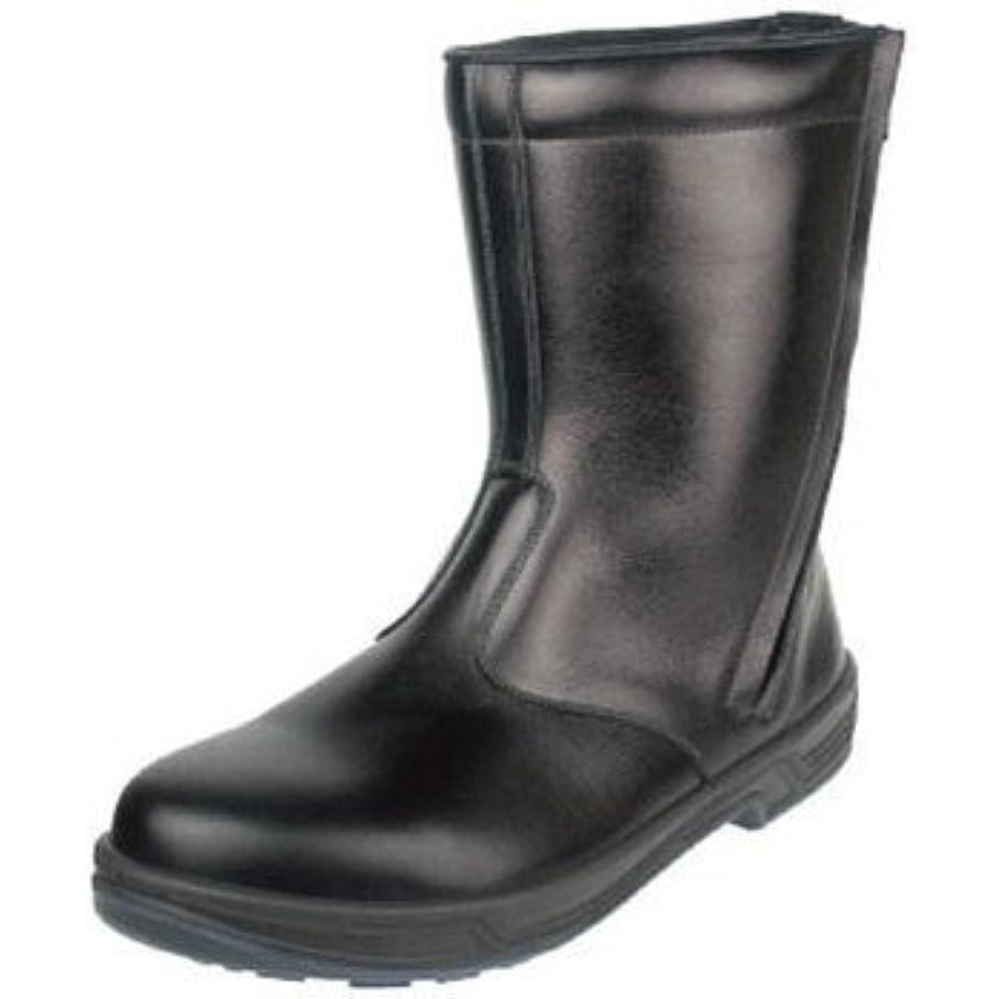 記憶に残る比類のない予防接種シモン 安全靴 半長靴 8544黒 24.0cm 8544BK-24.0