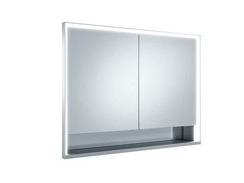 Keuco Royal Lumos spiegelkast 14314, 2 draaideuren, wandmontage, 1000mm - 14314171301