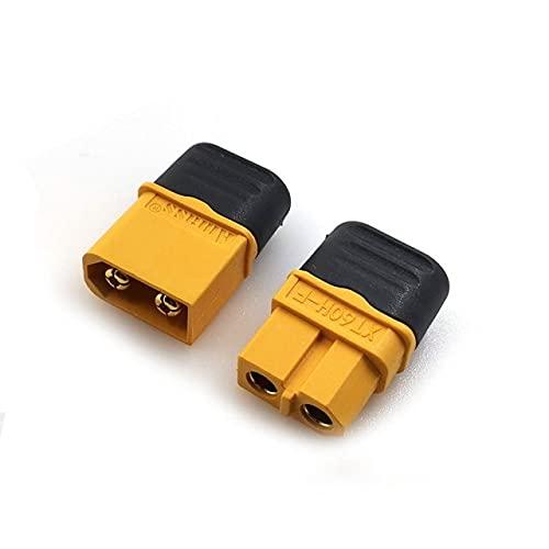 CENYAFAN Conector XT60H 10PCS Amass XT60 con la Envoltura de la Vivienda Hombre Mujer for RC Lipo Herramienta de Montaje de Piezas RC (Color : 5Pair)