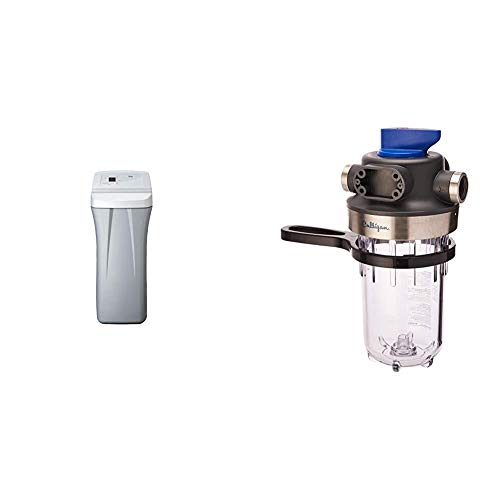 Whirlpool WHES30E 30,000 Grain Softener & Culligan WH-HD200-C Whole House Heavy Duty Water Filtration System, Clear