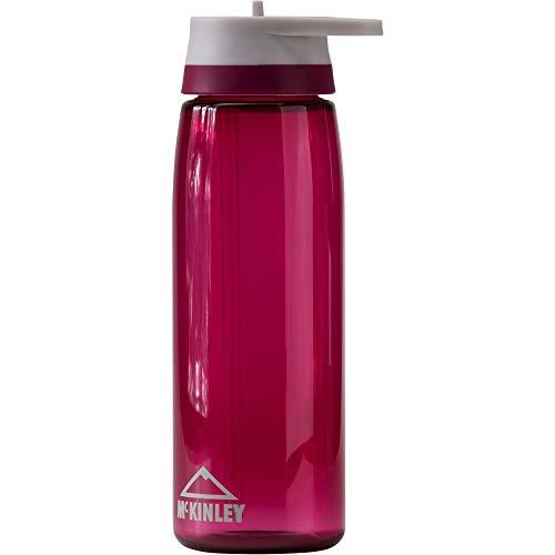 McKINLEY Trinkflasche Tri Flip, Dunkelrot, 0.75