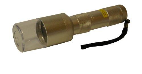 DIPSE Metall Elektrogrinder/Pollinator - mit Sieb und ohne - im Format Einer Taschenlampe - Für Kräuter und Tabakwaren