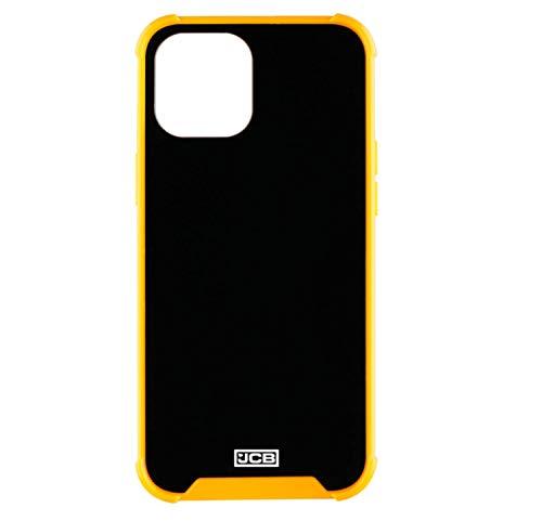 JCB Toughcase iPhone 12 6.1' Funda Protectora a Prueba de Golpes para Teléfono Móvil, Negro & Amarillo