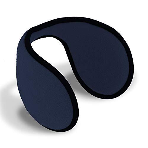 fiebig Orejeras para mujeres y hombres   calentadores de oídos en talla única de 54-63 cm   la innovadora protección para los oídos los mantiene calientes en el invierno   protectores de oídos (azul)