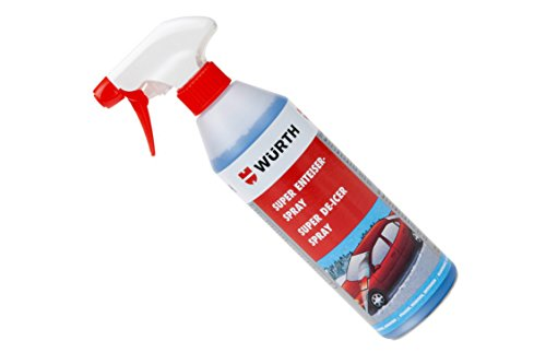 Würth Super Enteiser Spray 500 ml Scheibenenteiser Biologisch Abbaubar