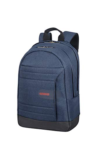 American Tourister Sonicsurfer - Laptop Backpack 15.6' Zaino Casual, 44 cm, 24.5 liters, Blu (Midnight Navy)