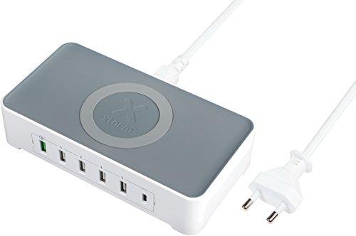 Xtorm Vigor hub voeding voor smartphone-oplader, grijs