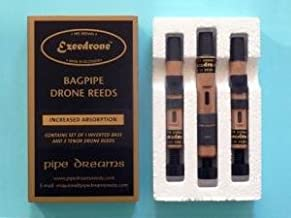 Ezeedrone Bagpipe Drone Reeds Easy Absorption Standard Tenors Inverted Bass