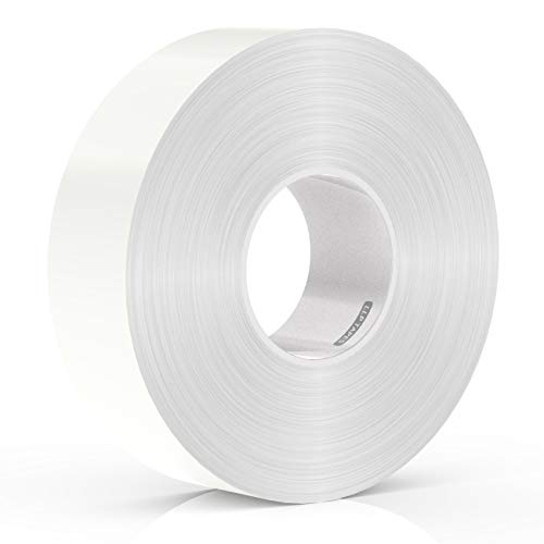 LLPT Double Sided White Woodworking Tape 1 Inches x 60 Feet for CNC Machining Wood Templates Removable Residue Free Very Strong Adhesives (WT120)