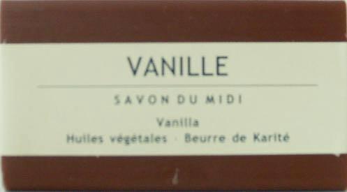 Savon du Midi au beurre de karité Savon Vanille