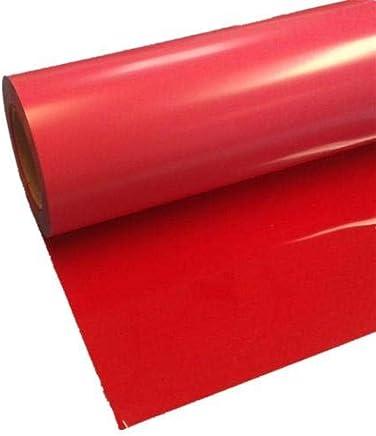 HEAT TRANSFER VINYL- RED, O.5M X 2M