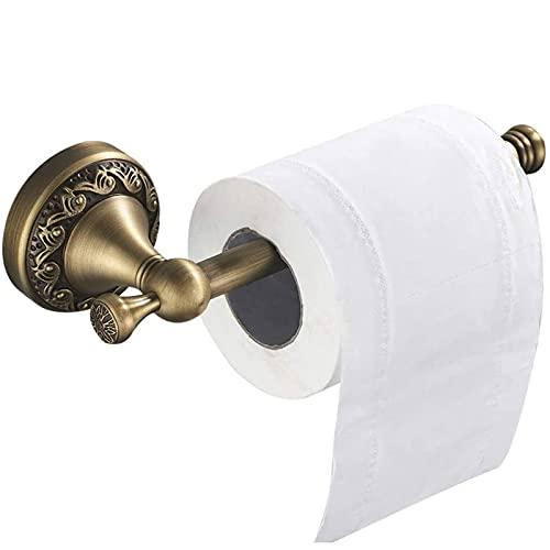 Tücherboxen Toilettenpapierhalter Messing Vintage Retro Antik Klorollenhalter Unterputz Wandmontage Werkstatt WC Papier Halterung