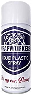 WrapWorkers Pintura en Spray de Vinilo Líquido Transparente Brillo