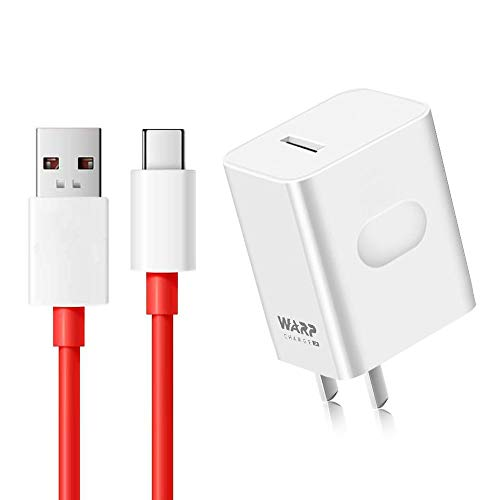 WNIEYO Warp Charger, OnePlus 7T 7 Pro Charger [5V 6A] + Fast Charging Cable for OnePlus 7 pro / 7 / 6T / 6 / 5T / 5