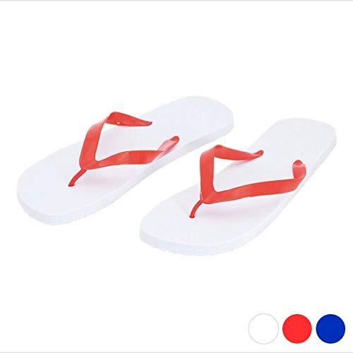 BigBuy Outdoor 143114 sandalen, wit/blauw, maat 42-44, unisex volwassenen