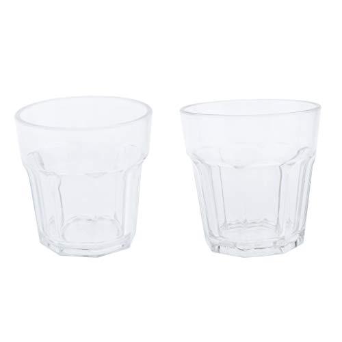 B Baosity Tasse à Eau Tasse Acrylique Gobelet pour Eau Café Thé Bière 190 Ml 300 Ml
