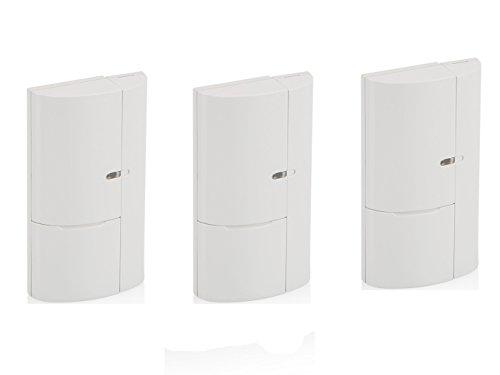 3 stuks. Extra ramen en deuren magnetische contacten voor SecuFirst Alarmsysteem ALM314S