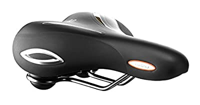 Selle Royal Lookin Relaxed Cool Xsenium Bicycle Saddle, Black