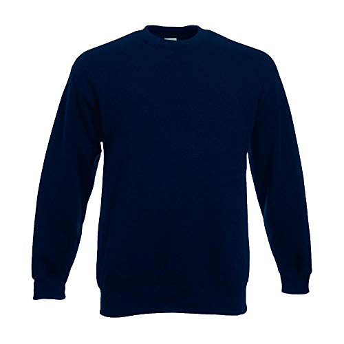 Fruit of the Loom - Set-In Sweatshirt - deep navy - Größe: XL