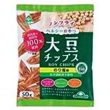 サンコー 大豆チップスのり塩 50g×6個