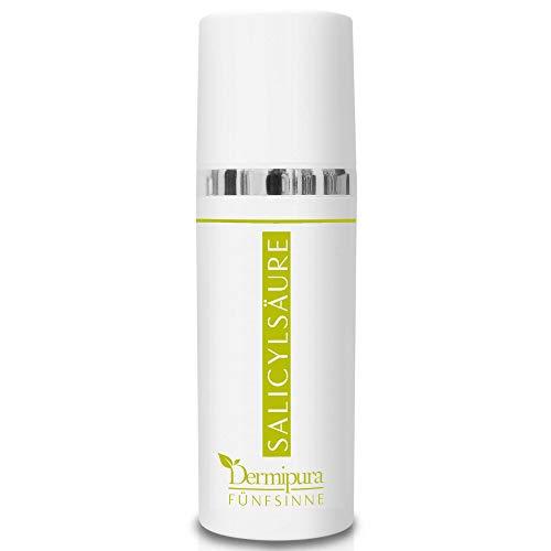 FÜNFSINNE Gesichtspeeling | 2% Salicylsäure gegen Akne, Pickel | BHA Peeling I Salicylic Acid Exfoliator