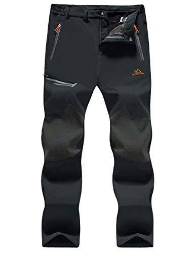 MAGCOMSEN Mens Waterproof Pants Snow Pants Ski Pants Winter Pants