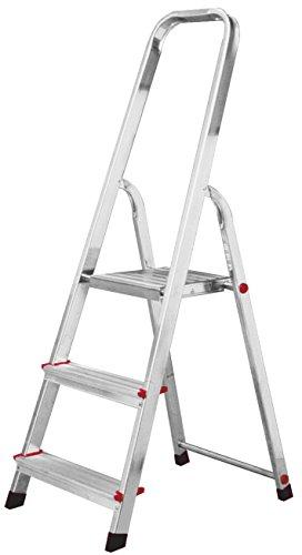 KRAUSE Corda Stehleiter, 3 Stufen, 000712