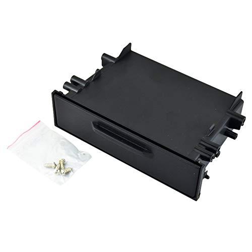 LeftSuper Caja de Almacenamiento de Coche Universal Car Auto Single DIN Radio Kit de Bolsillo Instalación Configuración Dash 1 Caja de Almacenamiento Coche para Toyota