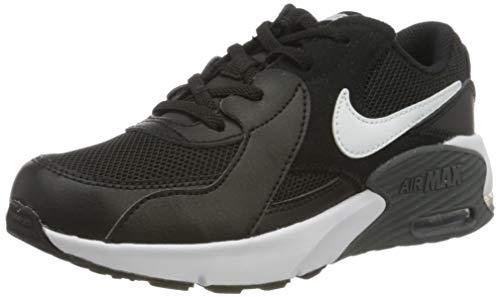 Nike Air MAX Excee (PS), Zapatillas, Negro/Blanco-Gris Oscuro, 30 EU