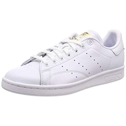 adidas Stan Smith W, Scarpe da Ginnastica Donna, Bianco (White Cg6014), 37 1/3 EU