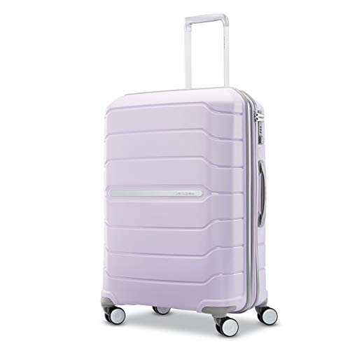 Samsonite Freeform Expandable Hardside Luggage with Double Spinner Wheels, Lilac