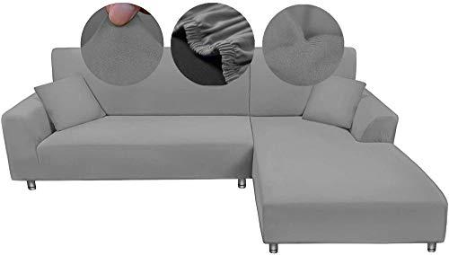 Fundas de sofá elásticas Funda Protectora para Mascotas, 1 2 3 Funda de sofá Antideslizante en Forma de L de 1 2 3 4 plazas