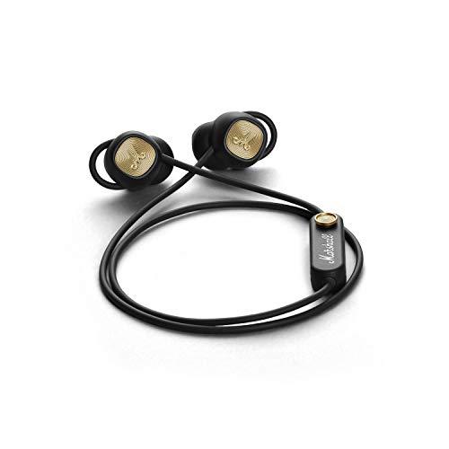 Marshall Minor II Bluetooth - Auriculares Bluetooth, Color Negro