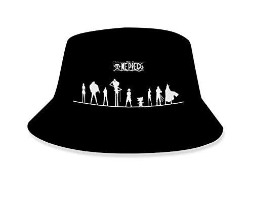 Sonnenhüte Damen One Piece Hut Fischer Hut, Anime Kinder Becken Hut Paar Trend Sonnenhut Dm