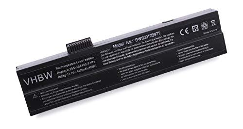 vhbw Li-Ion Akku 4400mAh (10.8V) für Notebook Laptop Amax Bullman Aero 5 Cen Wide wie 223-3S4000-F1P1, 468280, W2U223.