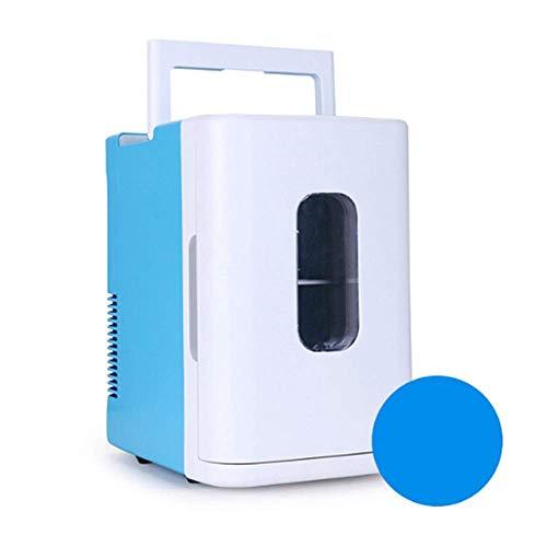 GHJA Enfriador y Calentador eléctrico de 10 l para Oficina, Dormitorio Universitario, Dormitorio y apartamento, frigorífico de compresor pequeño, frigorífico para Coche, mininevera portátil para