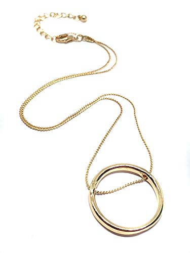 Eclectic Shop Uk Eternidad Infinidad Círculo Oro