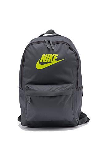 NIKE Unisex's Heritage - 2.0 Backpack, Iron Grey/Iron Grey/Cyber, One Size