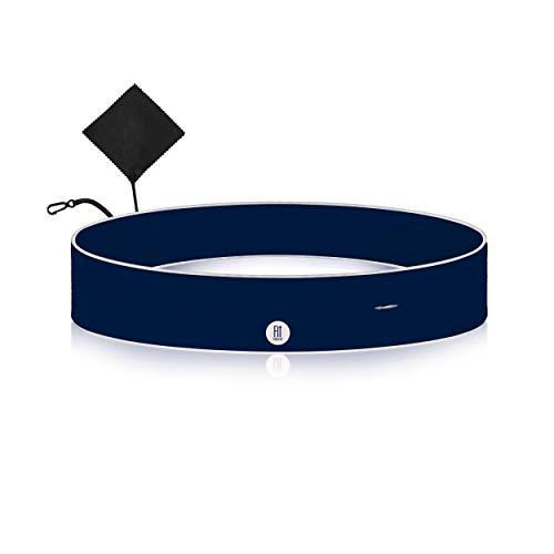 FitFeelsFun cinturón Running Estrecho con Bolsillo Cremallera - riñonera para Correr Hombre Mujer