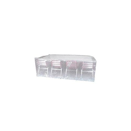 Housse > 90gr/m2, 220x120xH70cm pour table rectangulaire