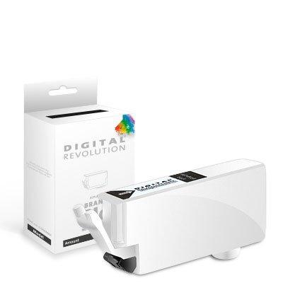 Digital Revolution, Patrone XL mit Chip 'Foto schwarz', 10,8 ml, Originalverpackte Markenpatrone, ersetzt: Canon 4540 B 001 (CLI-526 BK), schwarz