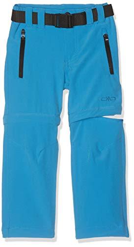 CMP Zip-Off 3T51644 Pantalones, Niños, cyano, 140