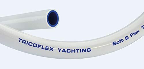 Tricoflex Wasserschlauch Tricoflex Yachting, 12.5 mm und, 15 m Rolle, Weiß