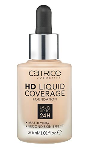 Catrice HD Liquid Coverage Foundation 020 Rose Beige