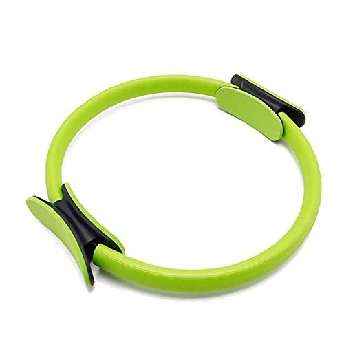 Yoga 1PC del anillo de Pilates Círculo Superior resistencia ejercicio de la energía del círculo de la aptitud de doble anillo de agarre para tonificar muslos Abs Piernas Productos para el Hogar