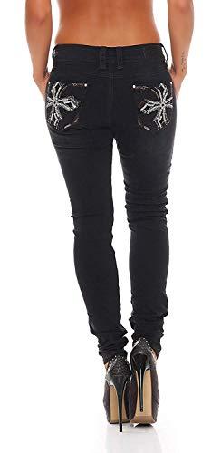 Blue Monkey Damen Jeans Luna BM-3691 L34/W28