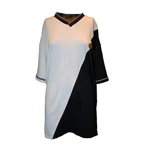 Lotto Boris S., T-shirt pour homme Taille XXL (US), blanc/noir