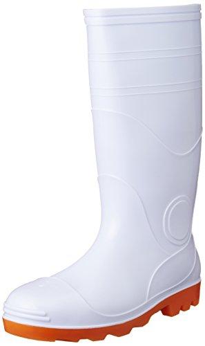 [オタフクテブクロ] 作業靴 安全耐油長靴 鋼鉄芯入 白 30 cm 3E