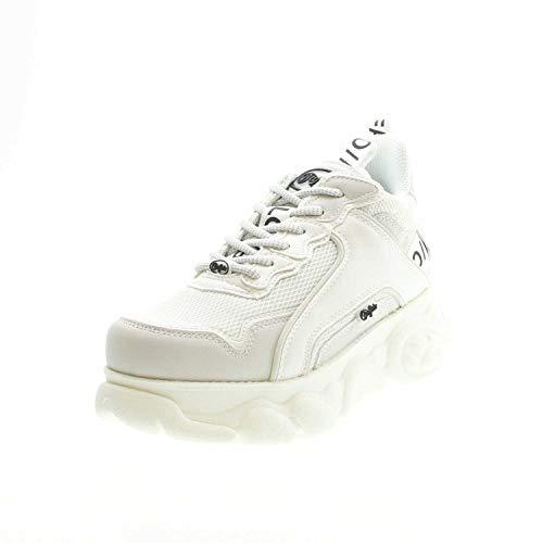 Buffalo Corin, Zapatillas Altas para Mujer, Blanco (White 000), 37 EU